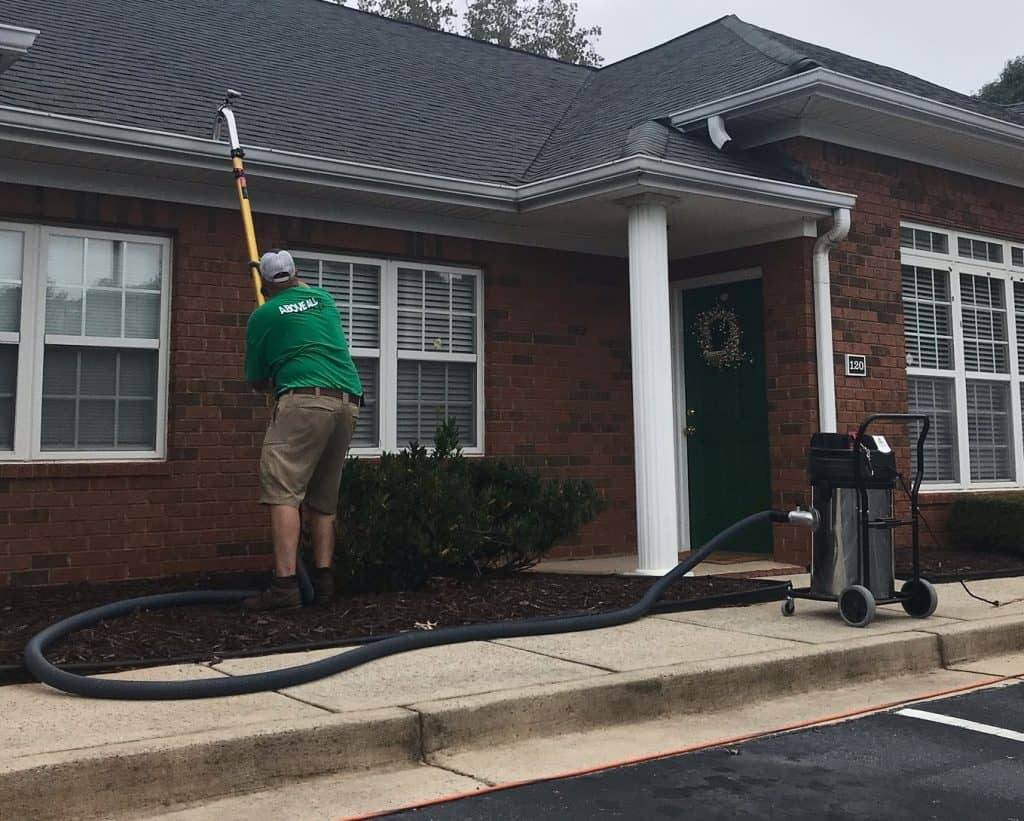 Gutter Cleaning Vac Service