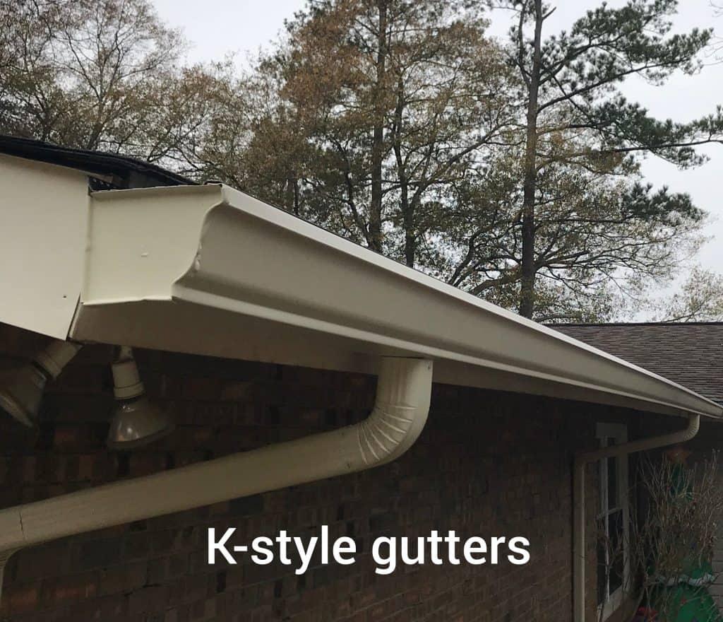 K-Style Seamless Gutters