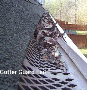 Fail Gutter Guard Install